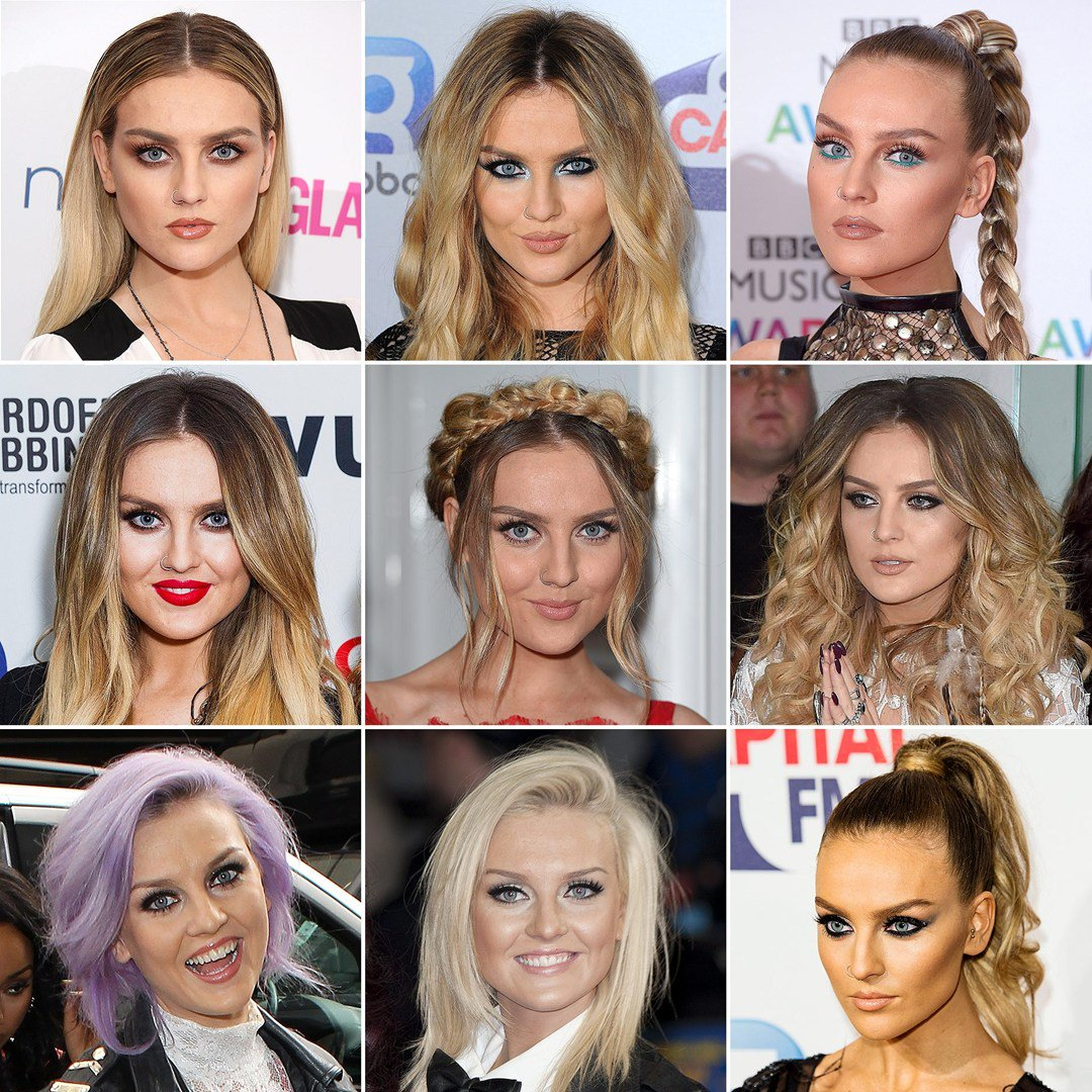 Perrie Edwards Beauty Looks In Pictures From Her Grey Hair To Her