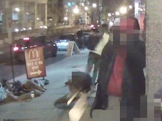 DC police release video of assault on decorated Marine vet https://t.co/CkrpKvfhMV https://t.co/kMCWMlnltt