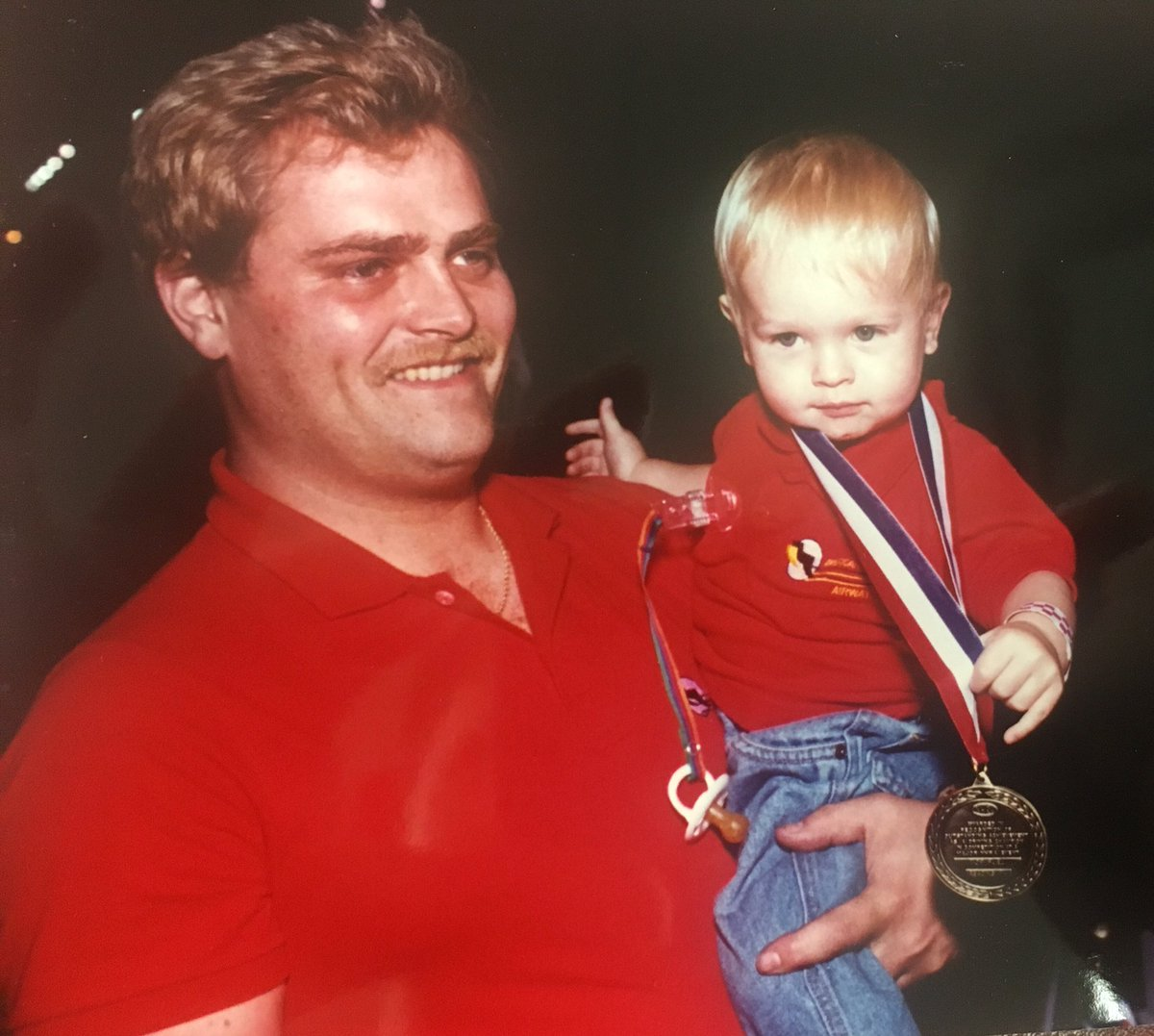 #ThrowbackThursday to Scott celebrating a win with Corey! Today would've been his 54th birthday #NHRA #KalittaStrong https://t.co/H2zNXDb2n8