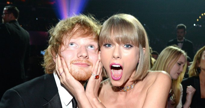Taylor Swift Wishes Ed Sheeran \Happy Birthday\ Like Only She Can
