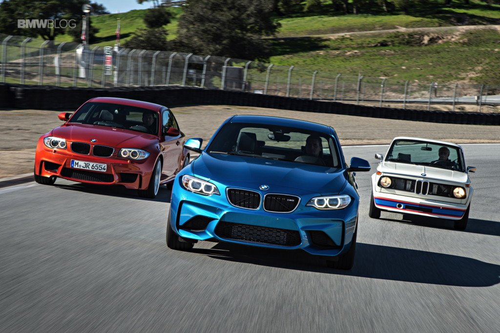 These three iconic BMWs went for a lap at Laguna Seca - https://t.co/Y1E3dxCCAW #BMW1M #Bmw2002 #BMWM2 https://t.co/MrgTAlZL0l