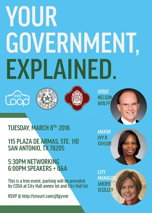Learn how @cosagov & @BexarCounty work from @Judge_wolff, @IvyRTaylor and Sheryl Sculley! https://t.co/A2anJUjR4l https://t.co/xMVjIYM10I