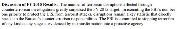 FBI sets a quota for how many terror plots it will disrupt. Let that sink in for a sec. https://t.co/8oby3jZaIA https://t.co/Sxp0fWuSkj