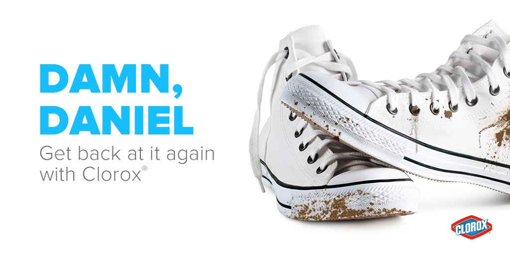 Whatever happens to those white shoes @Daniel_laraa, just know that we've got your back. #DamnDaniel #BackAtItAgain https://t.co/0pIiH2EHln