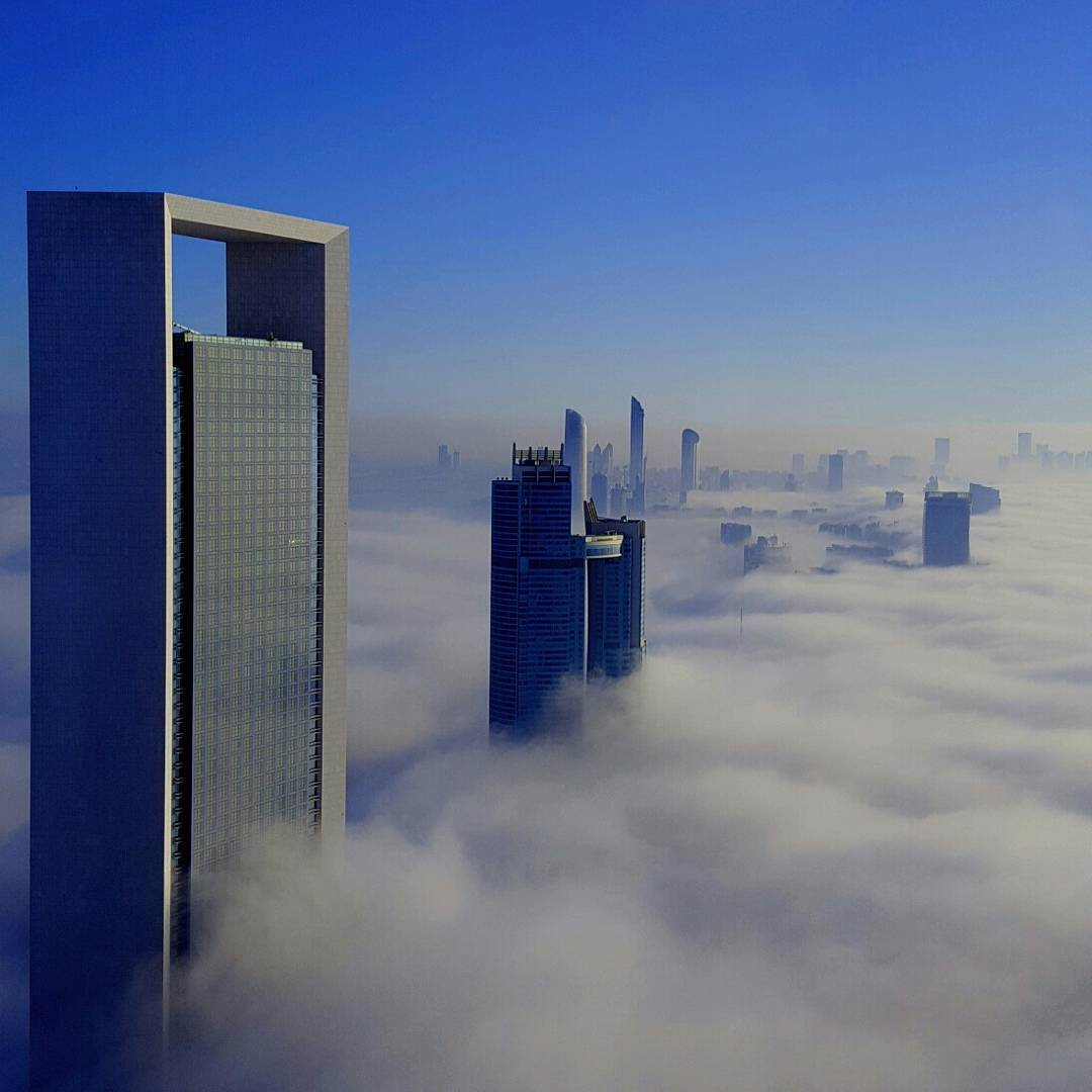 Good morning from foggy #abudhabi #uae :) https://t.co/T0BYQPebhP