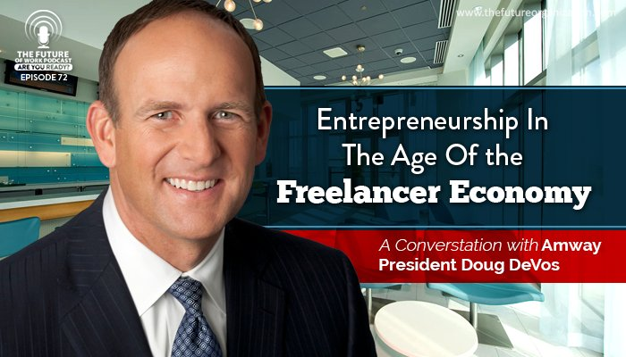 Being An Entrepreneur In The Freelancer Economy, A Conversation With @Amway President  https://t.co/AFEWxskajx https://t.co/ygJydGR9bw