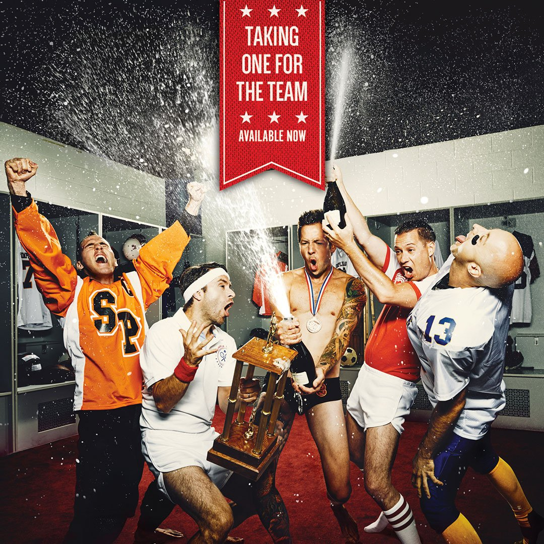 "Our new album ""Taking One For The Team"" is available NOW! #TeamSP https://t.co/nACUdKtzWn https://t.co/TpqGZE2GRO"