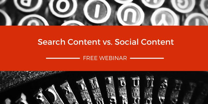 Search content v Social content - featuring the brilliant @LogocracyCopy - register here -https://t.co/qvZHIyePQi https://t.co/3lLLZqEglV