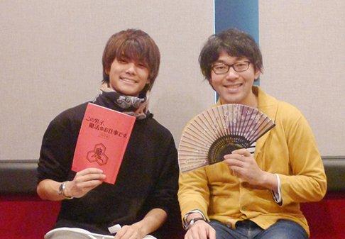 【お知らせ】サイトを更新しました。小野友樹さんと八代拓さんのキャストコメント第2回を掲載! #konodan