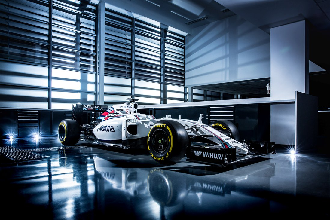 We're loving the new @WilliamsRacing #FW38. Read about our partnership: https://t.co/7M6qbekz3C #WeAreRacing https://t.co/i8JJYvvcko