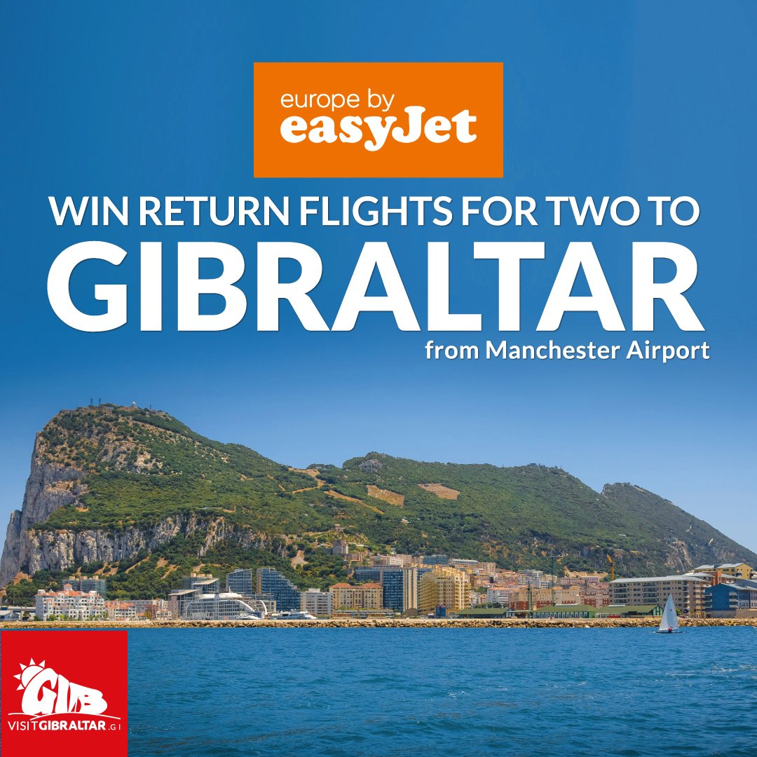RT @visit_gibraltar: Win tickets on the new @easyJet route from @manairport to VisitGibraltar starting 3rd July ht…
