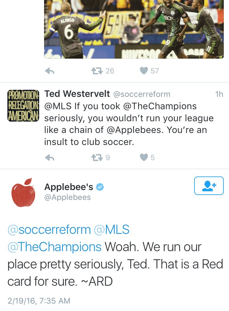 When you get taken down by @Applebees #DeleteYourAccount https://t.co/5jo658dHIO