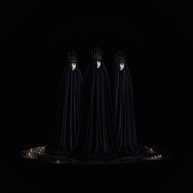 BABYMETAL、新ビジュアルは黒装束 https://t.co/ZhzpILy9Xb https://t.co/d0cDl2tZdZ