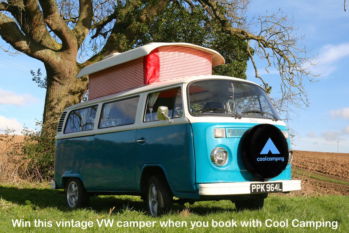 BIG NEWS We're giving away our vintage VW campervan! Win this classic dub with Cool Camping https://t.co/eEmDqUPsgj https://t.co/L0KixJfvEv