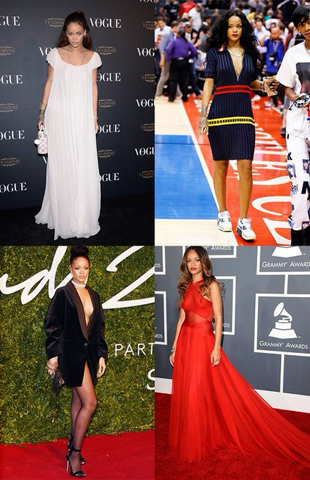 Happy Birthday We take a look at the Barbadian beauty\s 35 best looks: