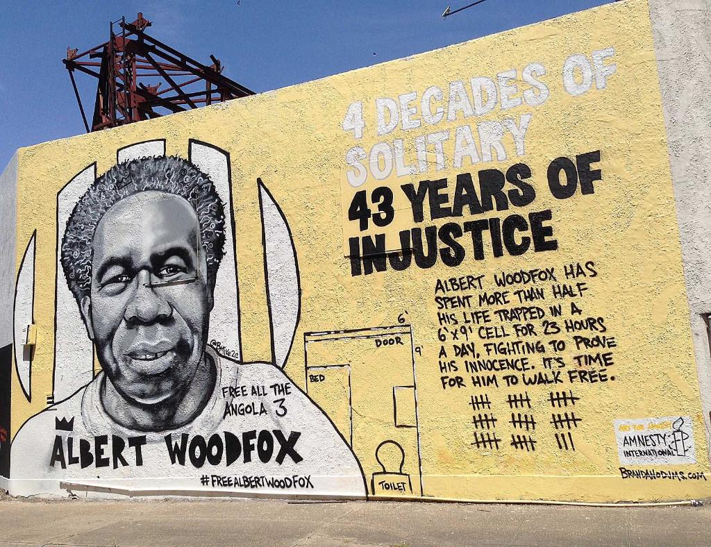RT @amnesty: 43 years of cruel isolation has ended. Today, on his 69th birthday, #AlbertWoodfox is FREE! https://t.co/YvDWl35ZyT https://t.…