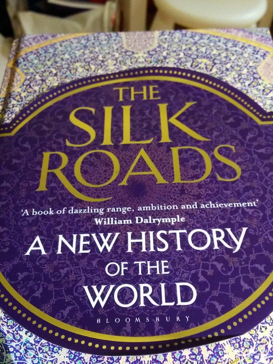 @History_Hit the phenomenal Silk Roads by @peterfrankopan .... rather slowly :) https://t.co/6BvJErNiOb