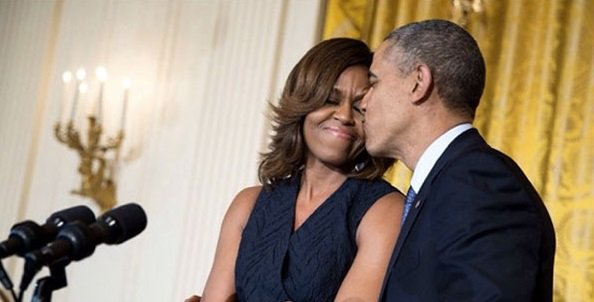 Barack Obama and Michelle Obama are keeping the sparks flying.