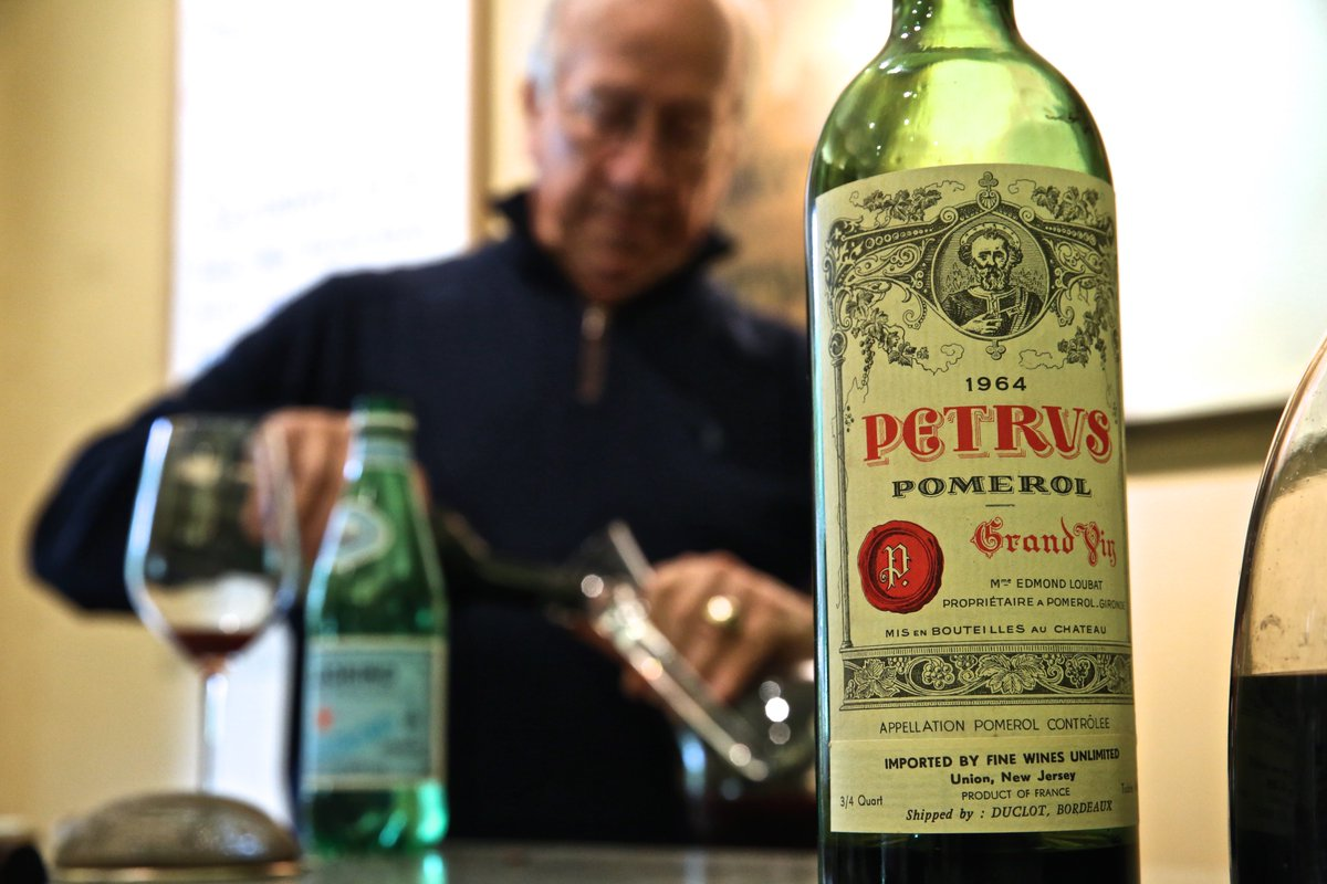 Petrus? We drink 1964 Petrus for breakfast because we're..........professionals. That's it! https://t.co/2Zlnh37KHB