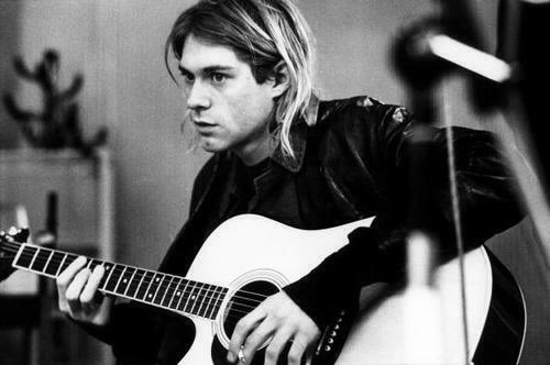 "Happy Birthday to Kurt Cobain   A human, an angel, the truth...  ""The duty of youth is to challenge corruption\"""