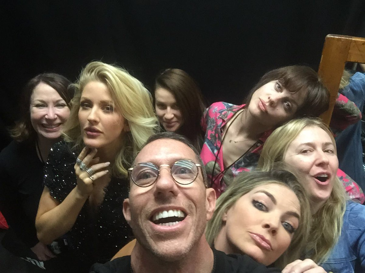 So much fun working with the amazing #GlamSquad & team for @elliegoulding at @TheGRAMMYs!  Miss you all already! https://t.co/uDM7hl4CC8