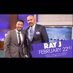 Having a great talk with @iamsteveharvey about life - love - and responsibilities! Feb. 22nd on #NBC https://t.co/bGuPrrcJ5u