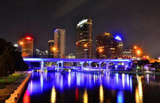 Tampa sounds good right about now. FlyReaganDeals are hot. Flights starting at $108.