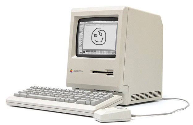 The Macintosh Plus had an 8 MHz processor with 1MB of RAM, released 30 years ago on January 16, 1986 https://t.co/R8INSWTrzy