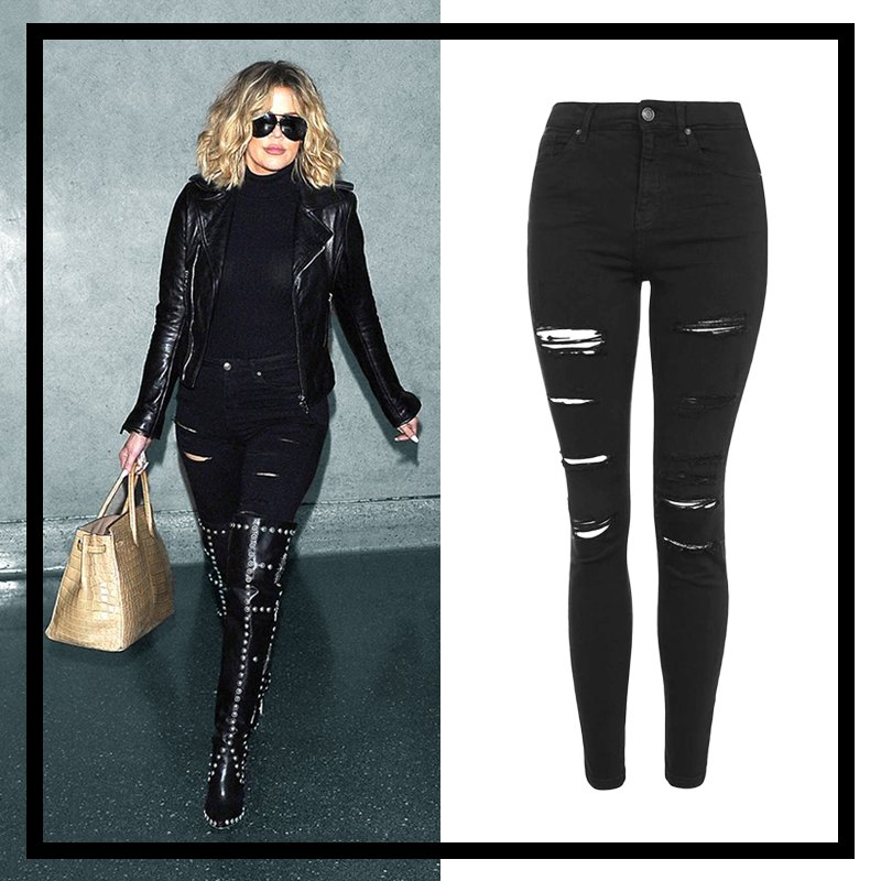 I LIVE in my fave @Topshop jeans!!! See which style I rock the most on khloewithak!!! https://t.co/ntk5fgACvP https://t.co/05KGY1EUm6
