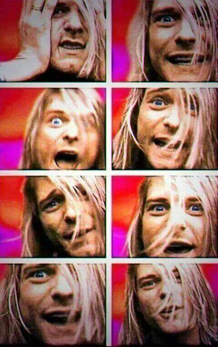 Happy birthday kurt cobain :c