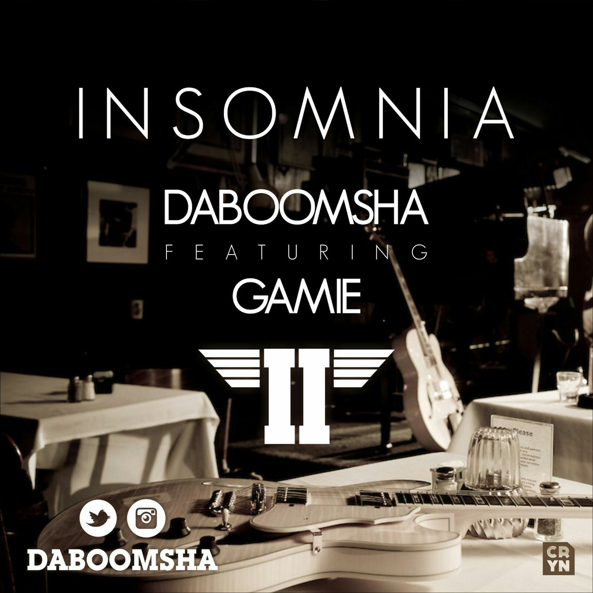 We're talkin' real Hip-hop! @Daboomsha drops Insomnia Feat @ItsGAMiE - https://t.co/NfMU5i0eiJ https://t.co/polQ2O7wsr