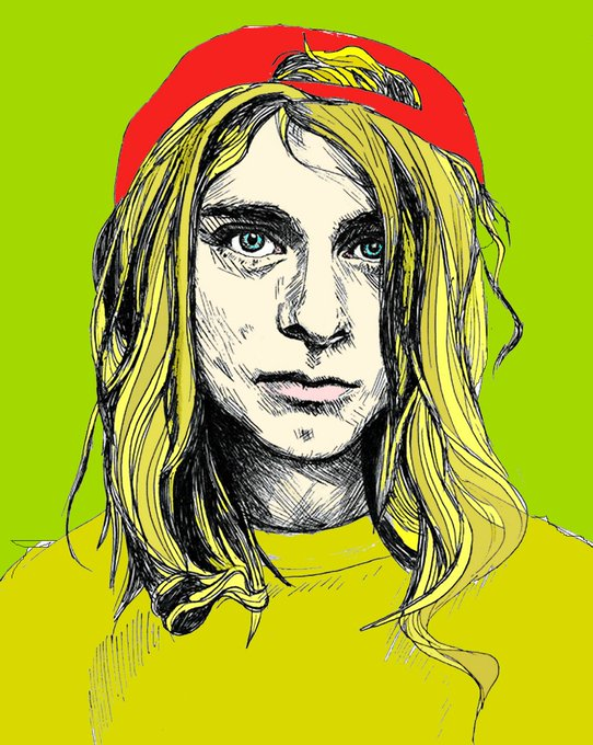 It started when he chose an old guitar over a motorcycle,at 14. Aren t we glad for that! Happy Birthday Kurt Cobain!