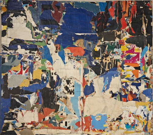 xea's museum • Mimmo Rotella, Collage 12, 1954 https://t.co/nU2d2lMYmW #art https://t.co/unTlEFjJ3d