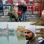 At Golden Temple & Wagah Border yesterday. Absolutely loved the energy there. #PositiveVibes #Grateful #FamilyTime https://t.co/ttTcOUI2U6