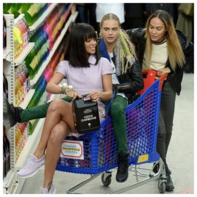 Happy Birthday How much fun would it be to shop in a shopping trolley?