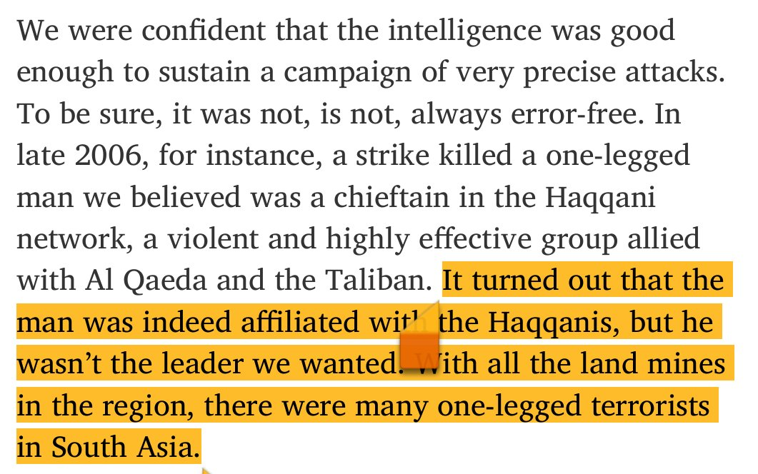So many things wrong with this defense of drone strikes, but this part speaks for itself: (via  @ioerror @nytimes) https://t.co/OvNySNVLt3