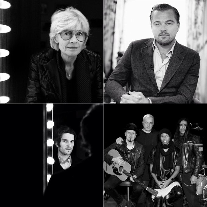 Les amis ce matin 11h @europe1 nous recevons #FrancoiseHardy @ProustGaspard @SkunkAnansie @LeoDiCaprio dans #sdc