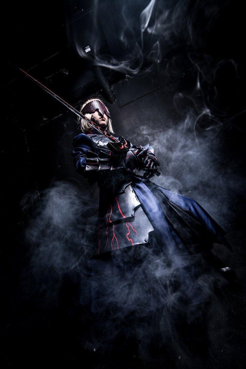【コス】Fate/stay nightセイバーオルタPhoto、レタッチ/こもりさんスタジオ/
