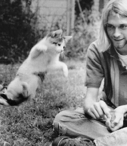 "Happy birthday ""Voice of my generation\"" - Kurt Cobain"