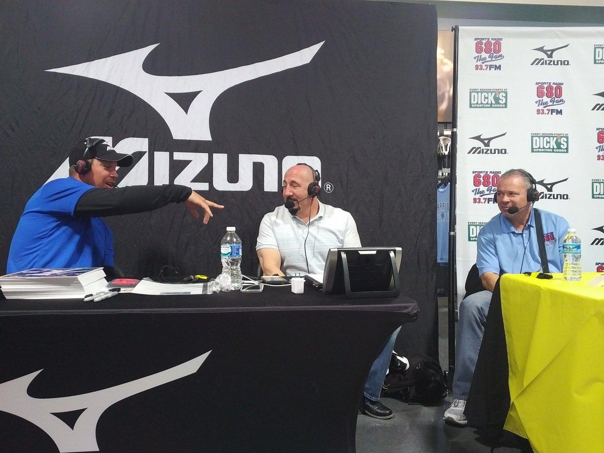 @RealCJ10 is on LIVE right now with @chrisdimino @LeoMazzone54 and Mark Lemke https://t.co/FU0OKaqcVB