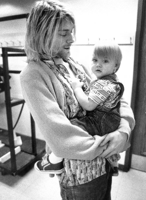 Happy birthday to my favorite rocker, Kurt Cobain. World is a sad sick place without you xxx
