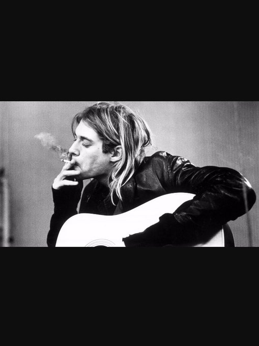 Happy birthday Kurt Cobain. RIP
