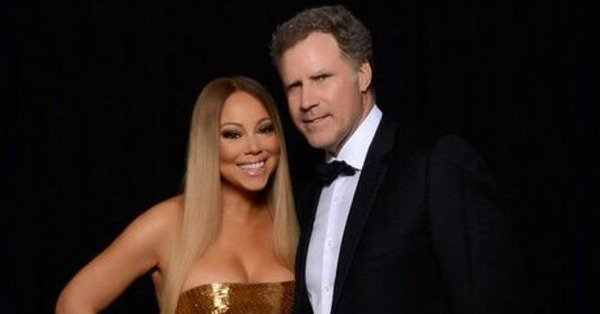 Will Ferrell got a beauty touch up from the one and only Mariah Carey and it's a must-see: