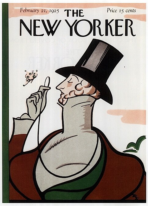 "The first issue of ""The New Yorker"" is published #onthisday in 1925. https://t.co/uFxhaVEsqK"