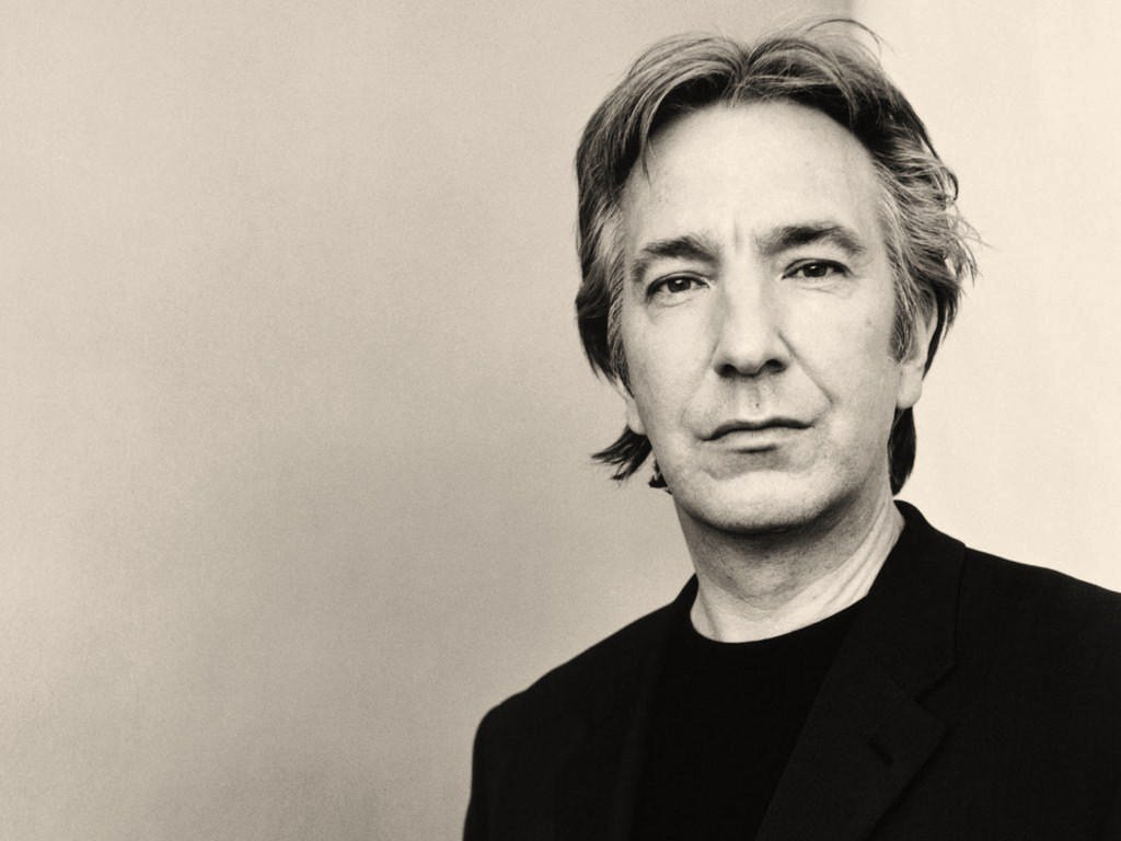It's Alan Rickmans birthday today. He would have been seventy years old. Thank you, Alan. #RIPAlanRickman https://t.co/OSd9sBmjDk