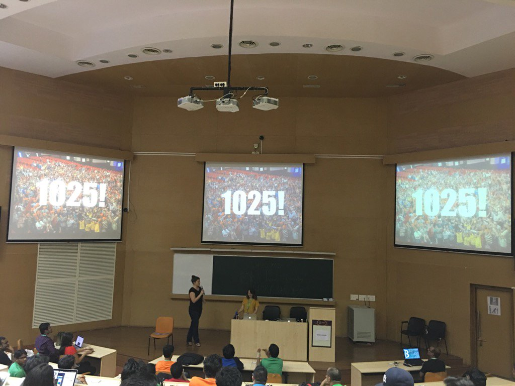1025 people attended #drupalconasia! That's almost triple #DrupalCon Sydney. Awesome effort team. https://t.co/yAwBMUHXgu