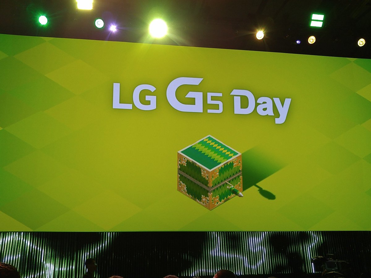 Tutto è pronto... #LG #LGG5 #G5 https://t.co/jAbyynI9te