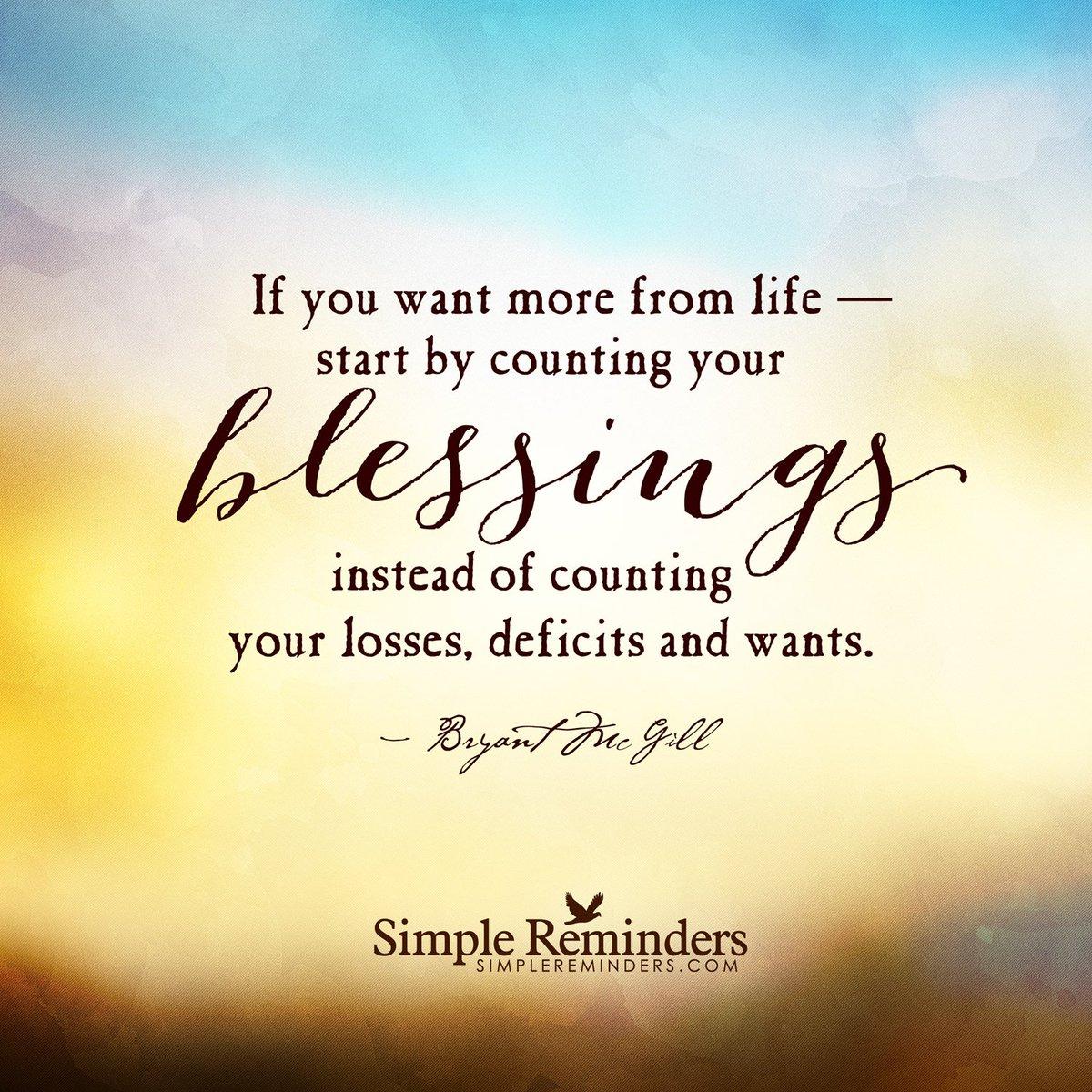 ~ Count Your Blessings ~ https://t.co/hO75XMrEvB