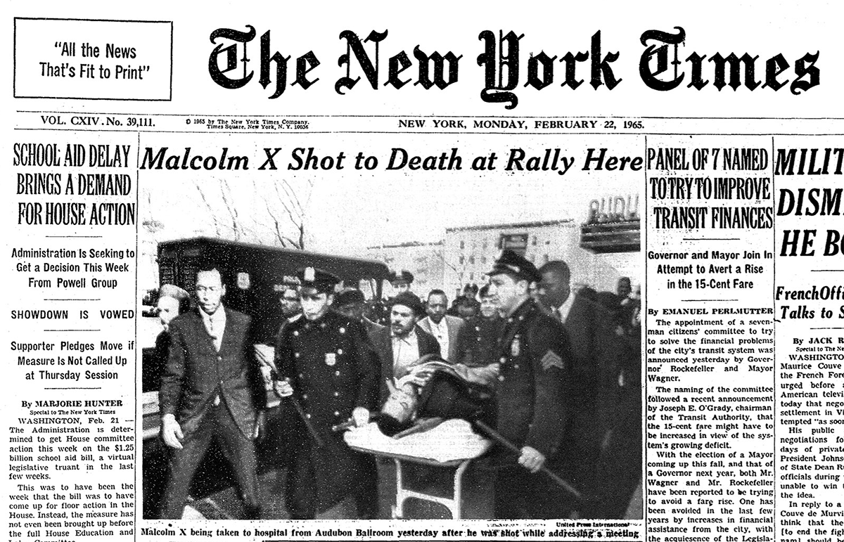 the assassination of malcolm x On feb 21, 1965, the former nation of islam leader malcolm x was shot and killed by assassins identified as black muslims as he was about to address the.
