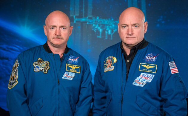 Happy birthday to @ShuttleCDRKelly & @StationCDRKelly celebrating during his #YearInSpace